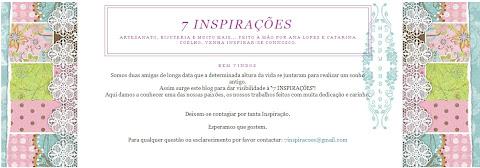 7 INSPIRAÇÕES