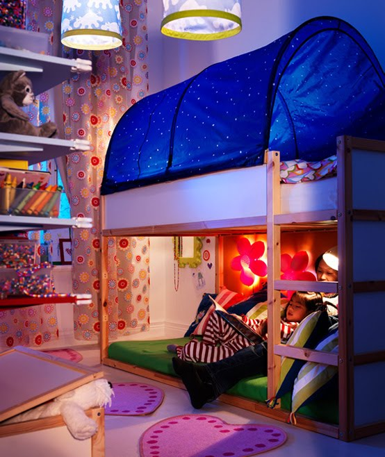 Quarto de meninas e meninos casa design minimalista for Kids rooms ikea