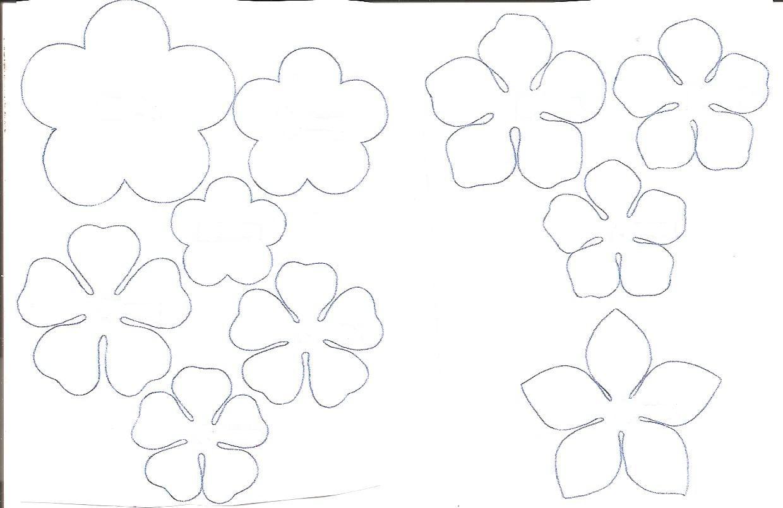 Как самому сделать трафареты цветов для