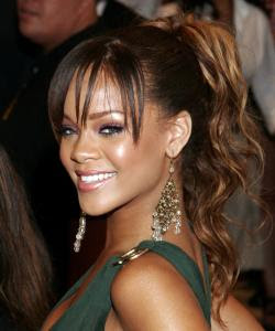 Fresh Look Celebrity Ponytail Hairstyles Gallery 08