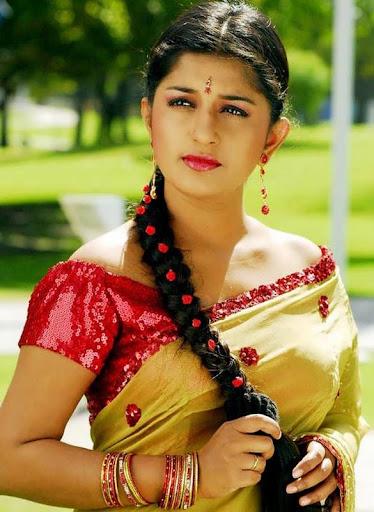 desi girl masala Meera jasmine in green saree spicy photo set