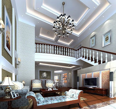 Chinese Living Room Design 4