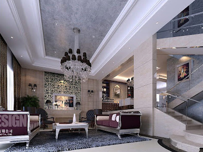 Chinese Living Room Design 3