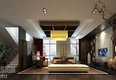 Chinese Living Room Design 1