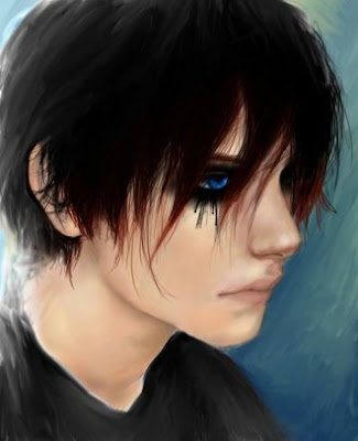 Picture of Emo Hairstyles For Boys With Short Hair Emo Short Black Emo Hair