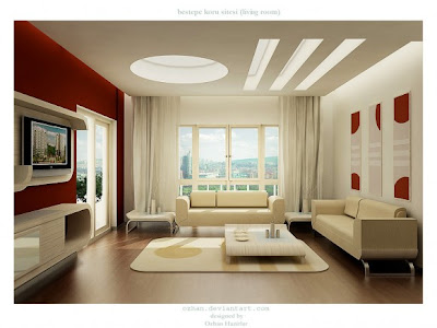 Cheap Decorating Ideas  Living Room on Decorating Ideas  10 Red And White Living Rooms Interior Design Ideas
