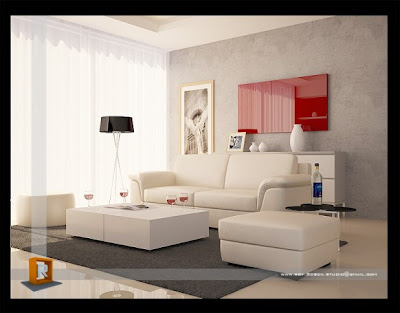 Great Living Rooms on Decorating Ideas  10 Red And White Living Rooms Interior Design Ideas