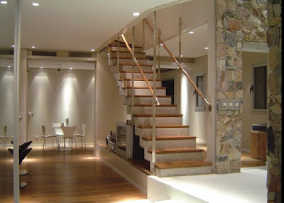 Contemporary Raw Stone & Wood Home Designs