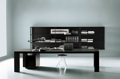 office furniture on ideas contemporary black and white home office