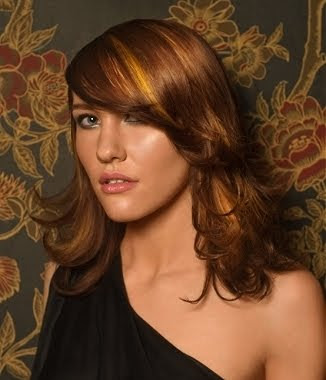 shoulder length hairstyles with bangs. Short hairstyles with angs