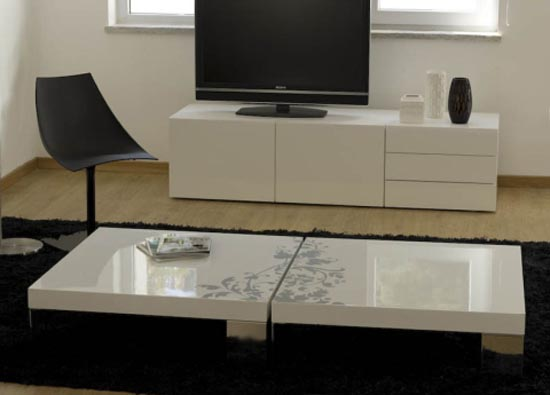 Modern Living Room Contemporary Coffee Tables Design