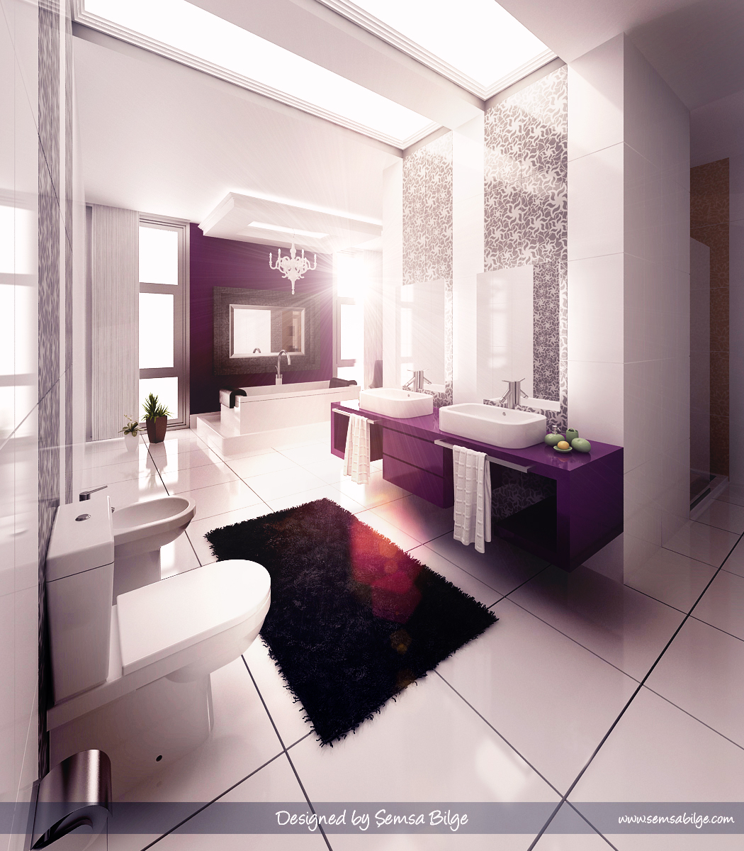 Beautiful bathroom designs ideas interior design for Beautiful toilet designs