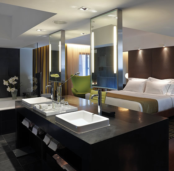 Luxury hotel interior decorating ideas home office for Hotel interior design ideas