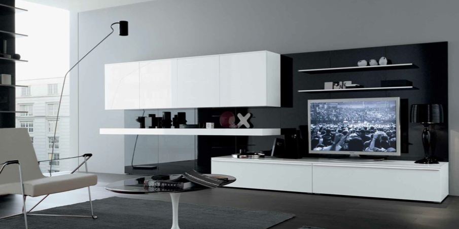 Modern minimalist living room design from misuraemme - Minimalist interior design living room ...