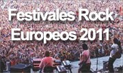 mejores festivales rock europa 2011