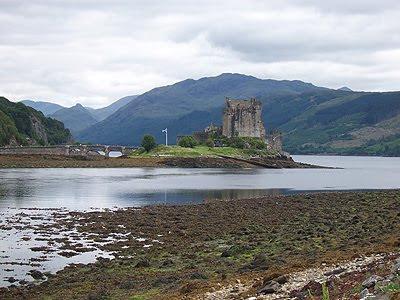 Castillo de Eliean Donan Escocia