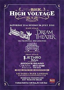 Black Country, Jethro Tull o MSG al High Voltage Festival
