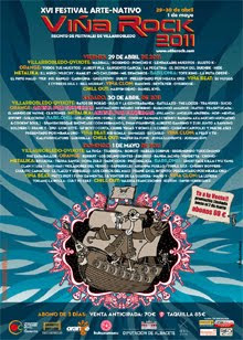 El Cartel del Festival Viña Rock 2011