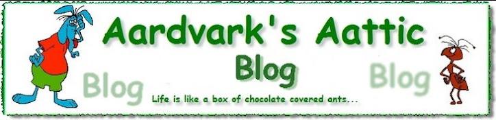 Aardvarks Aattic Blog