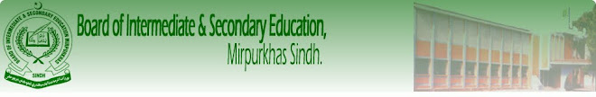 Visit official website of BISE Mirpurkhas