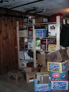 my basement project june 2007