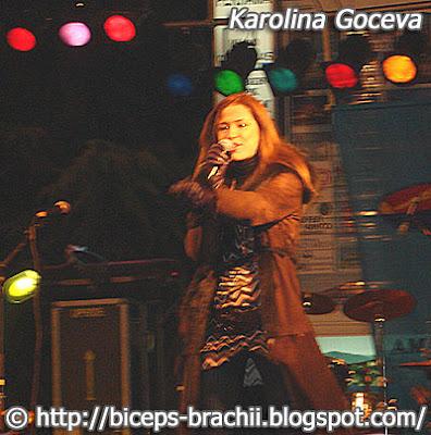 Sexy Karolina Goceva in Ohrid