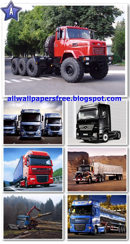 86 Big Trucks Wallpapers 1600 X 1200