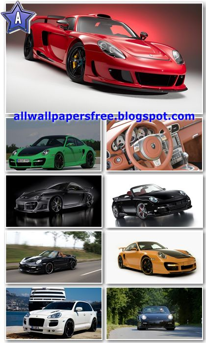 100 Amazing Porsche Cars Wallpapers HDTV 1080p