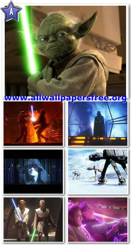 1300 Amazing Star Wars Wallpapers 1600 X 1200 [Complete Saga]