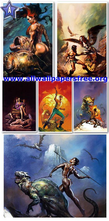 1000 Fantasy Artworks by Boris Vallejo [Up to 1900 Px]
