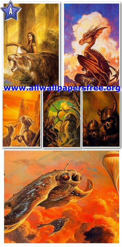 270 Stunning Fantasy Artworks by Bob Eggleton [Up to 2800 Px]