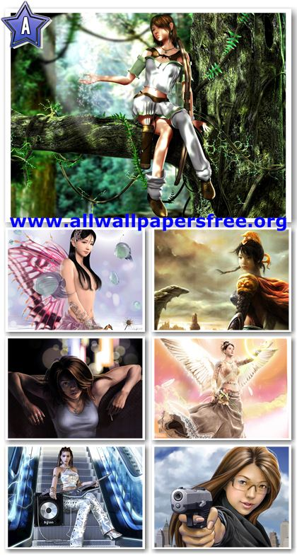 girls wallpapers beautiful. 30 Beautiful Fantasy Girls
