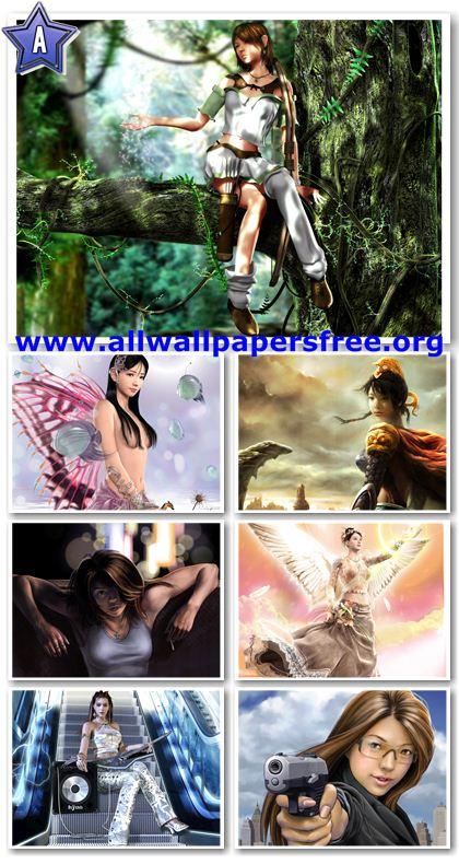 30 Beautiful Fantasy Girls Wallpapers 1600 X 1200