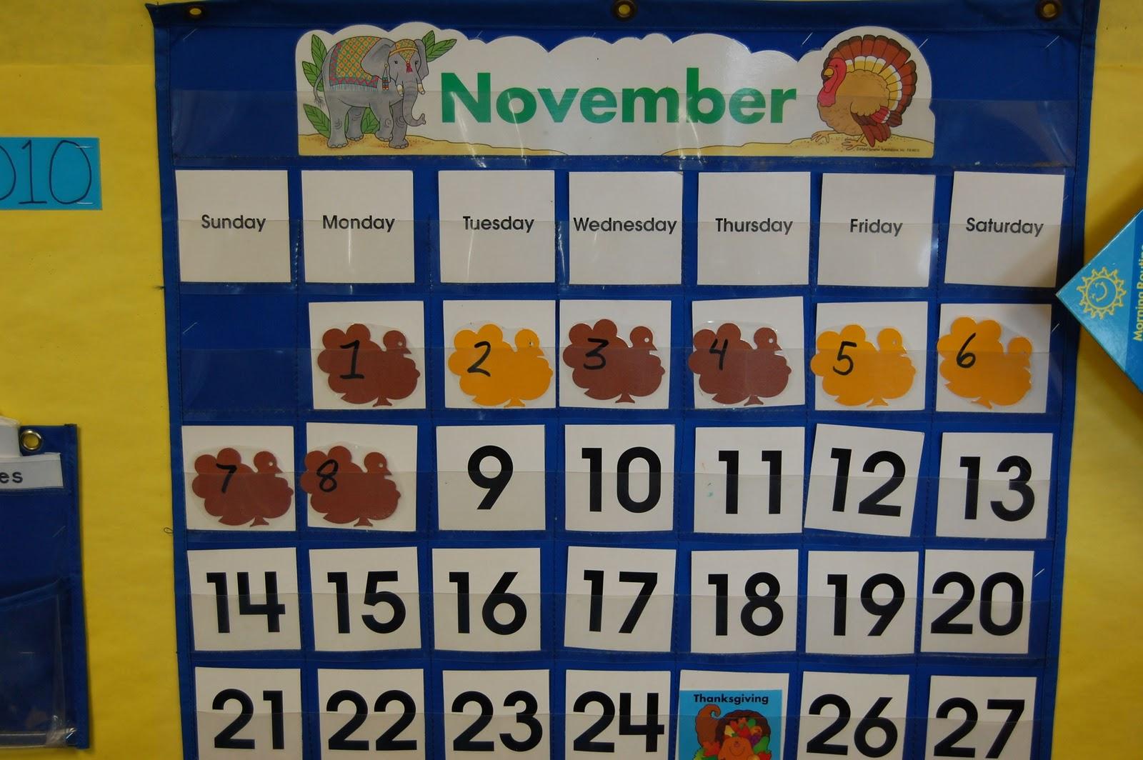 Starfall Calendar November - Bing images