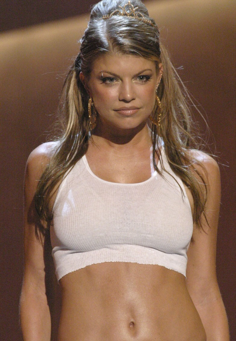 The Black Eyed Peas front woman was the headlining act at the annual ... Fergie
