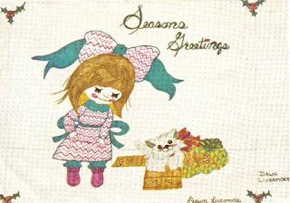 Toronto Star's Seasons Greetings Holiday Card Design Winner, Courtesy of the artist, Dawn Palfreyman
