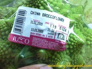 China Broccoflower