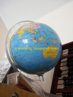 Small Globe - Malaysia