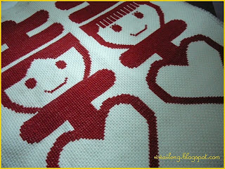 Double Happiness Cross Stitch