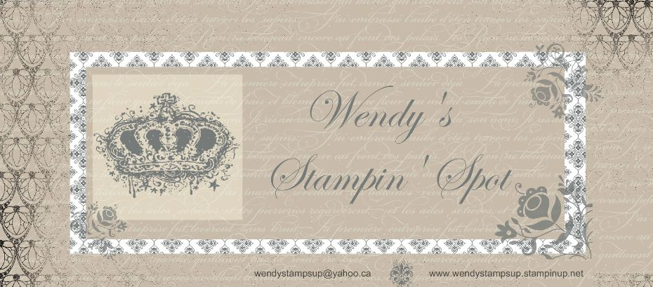 Wendy's Stampin' Spot
