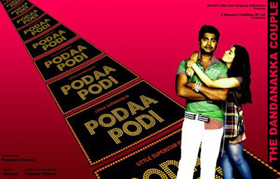 Simbu-Varalakshmi's next film titled Podaa Podi, First Look Stills