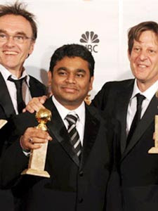 Music composer A R Rahman has said that he identifies himself with Slumdog Millionaire's hero
