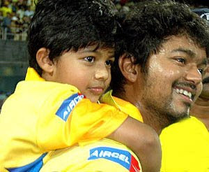 Ilayathalapathy Vijay's son Sanjay (7) is making a special appearance with dad in a song for his new film Vettaikaran