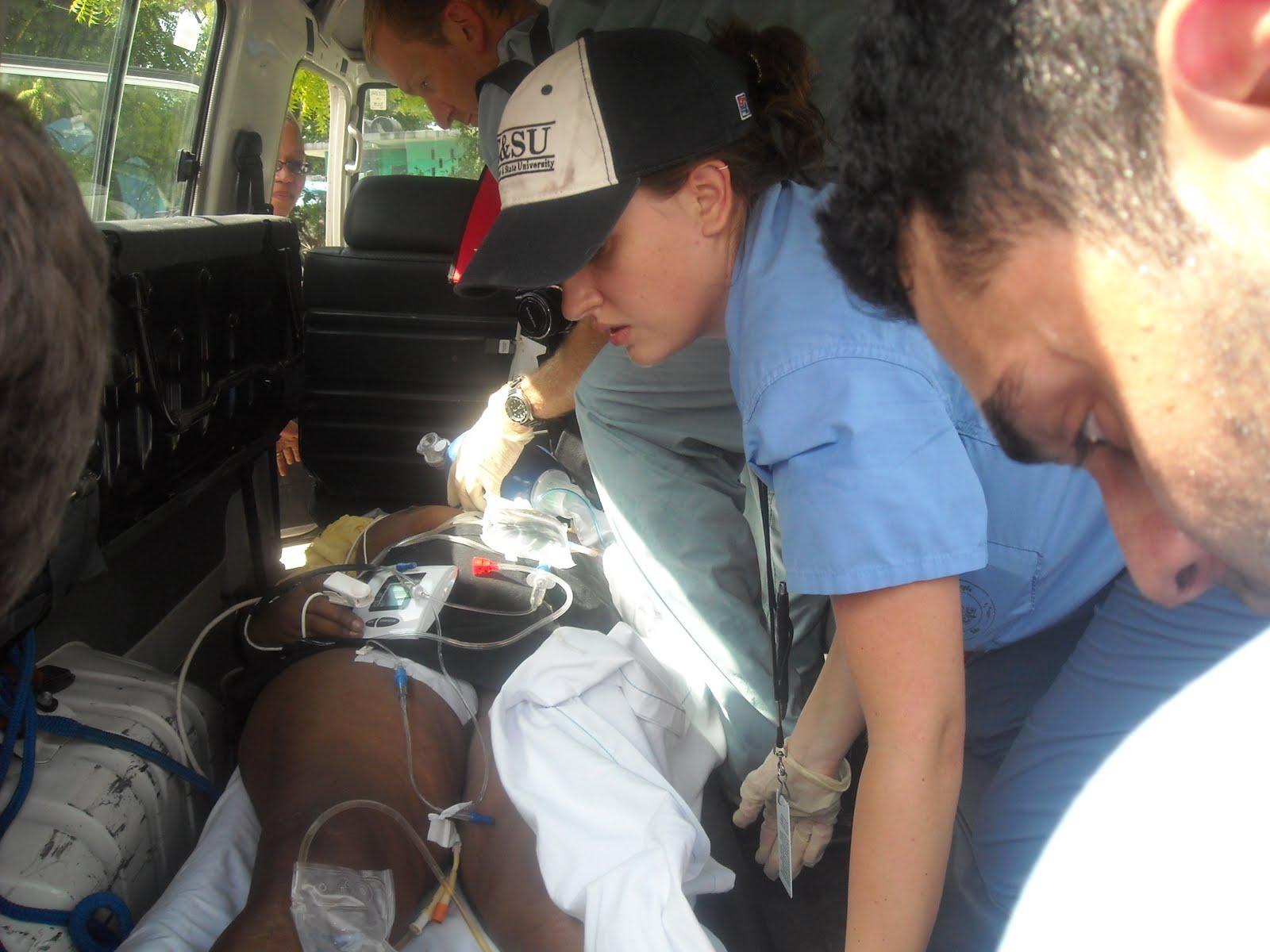 Rover turned ambulance I