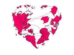 el corazón del mundo: aquí !!!