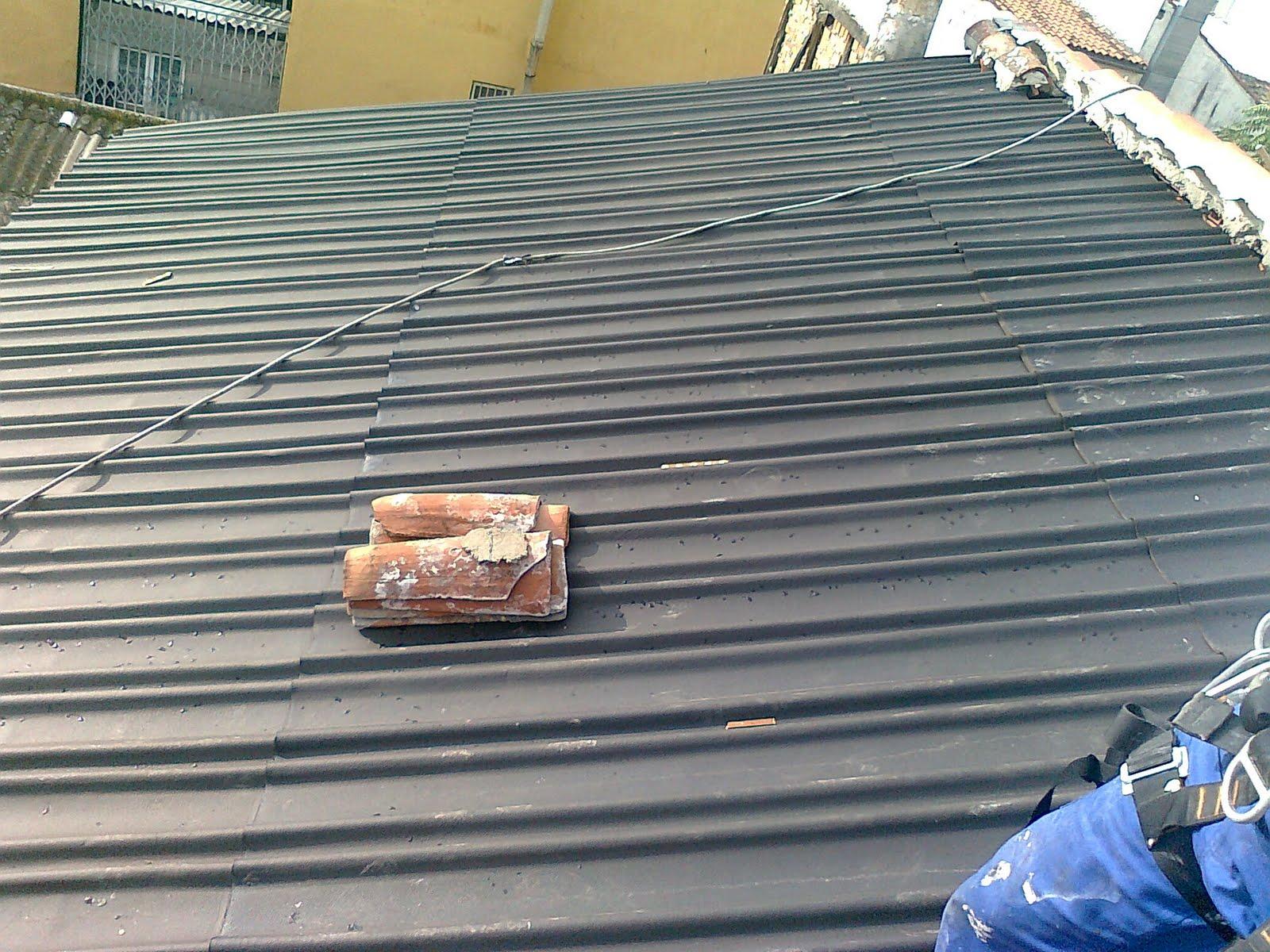 fotos de reparacion tejado de madera trabajos en