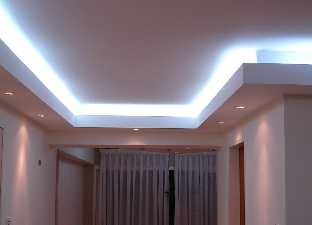 Reforma con aluminio en madrid cosmoval 91 616 0661 - Luces empotradas en el techo ...