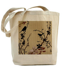 Birds & Cherry Blossoms Bag