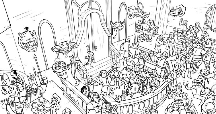 wheres waldo coloring pages - photo#1