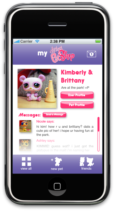 LPs iPhone Template